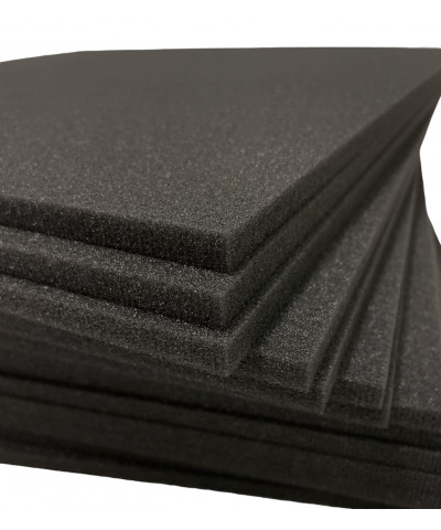Pannelli fonoassorbenti lisci, spessore 3 cm