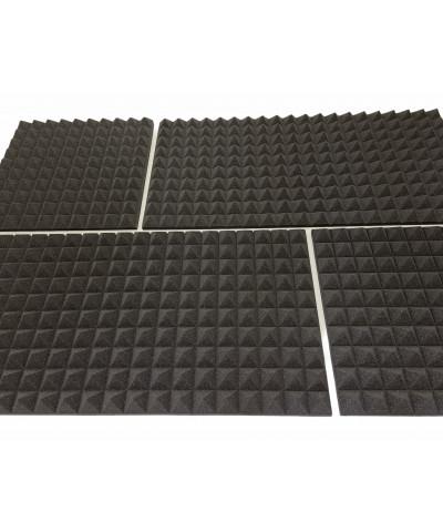 Pannelli fonoassorbenti piramidali di diverse dimensioni