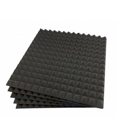 Pannello fonoassorbente piramidale per sala prove