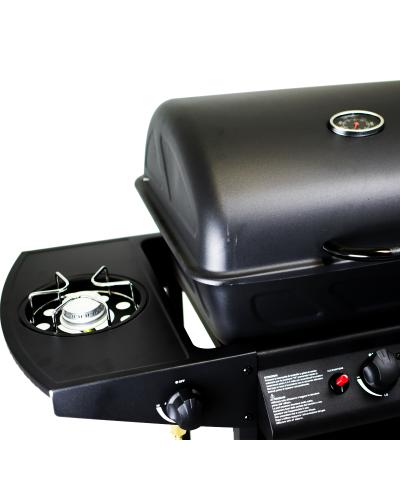 Barbecue a gas da giardino con termometro