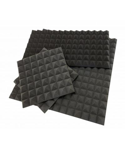 Pannelli piramidali fonoassorbenti, diverse misure disponibili